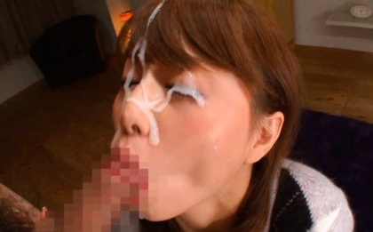 Tsubasa okina gets cum from sucked shlongs 6