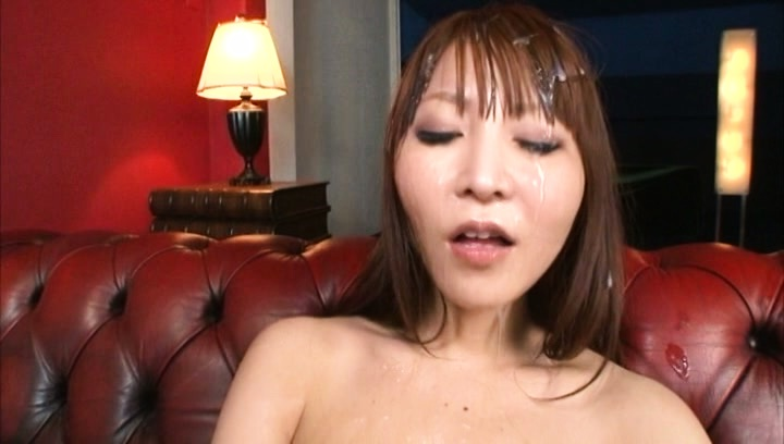 Rei aimi. Rei Aimi Asian gets cumshot all over elegant face