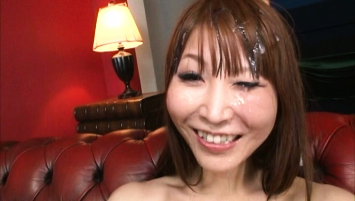 Rei aimi. Rei Aimi Asian gets cumshot all over inviting face