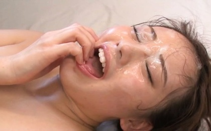 Beni itou. Beni Itou Asian gets ejaculate on face after is