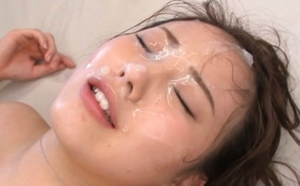 Beni itou. Beni Itou Asian gets cumshot on face after is