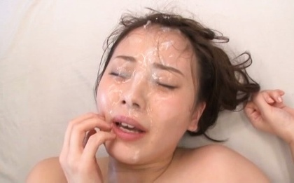 Beni itou. Beni Itou Asian gets so much ejaculate on face